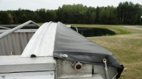 TSX800 Power Lock Down Lorry Tarpaulin System for Tipper Lorries