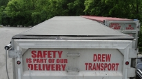 TSX1600 Power Lock Down Trailer Cover System for Transfer Trailers