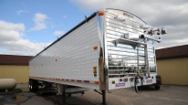 TSX1500 Power Lock Down Trailer Cover System for Agricultural Trailers