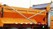 Lorry Tarpaulin For Rear Tippers