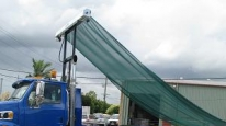 TarpMaster® DCX100 Armless Tarpaulin System for Hook Loaders and Skip Loaders