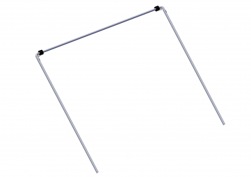 "Arm Set, 103 1/2"" (263 cm) Wide Top Tube w/ 98"" (249 cm) Side Arms"